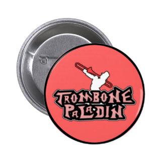 Deluxe Trombone Paladin Logo Pins
