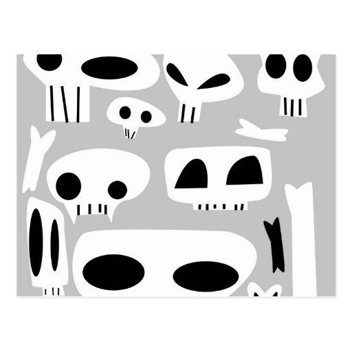 Dem Bones Post Cards