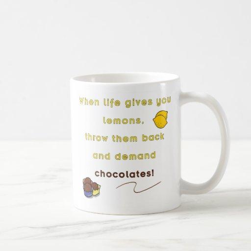 Demand Chocolate Mugs