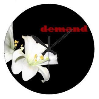 Demand clock