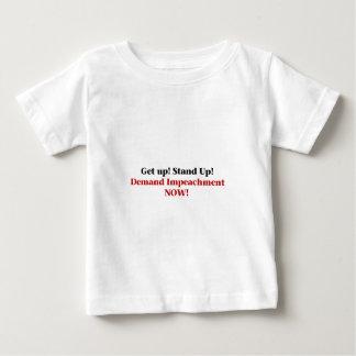 Demand Impeachment Now Baby T-Shirt