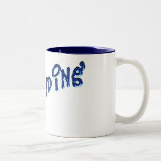 demanding Two-Tone mug