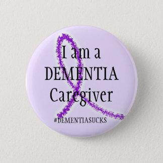 Dementia Caregiver 6 Cm Round Badge