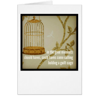 Dementia Journey Magnet: In The Good Moments Card
