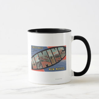 Deming, New Mexico - Large Letter Scenes Mug