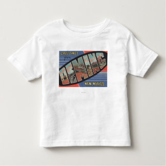 Deming, New Mexico - Large Letter Scenes Toddler T-Shirt