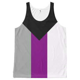 Demisexual Pride All-Over Print Singlet