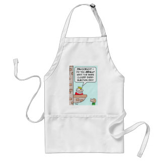 democracy closed bars election day king aprons