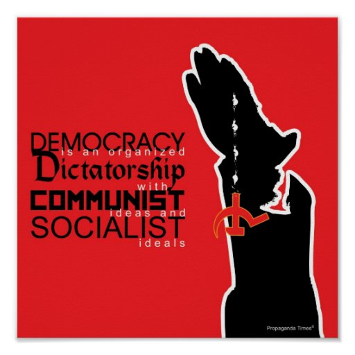 Democracy is... posters