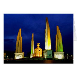 Democracy Monument Card