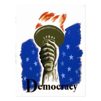 Democracy Postcard