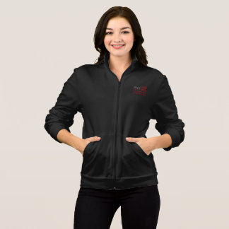 Democracy Women's Dark Fleece Zip Jog Jacket