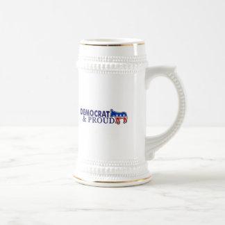 Democrat and Proud Beer Stein