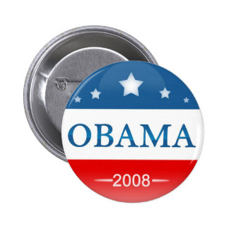 Democrat Barack Obama 2008 6 Cm Round Badge