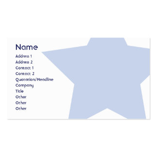 Democrat - Business Pack Of Standard Business Cards