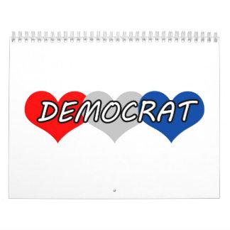 Democrat Wall Calendars