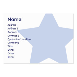 Democrat - Chubby Business Card Templates