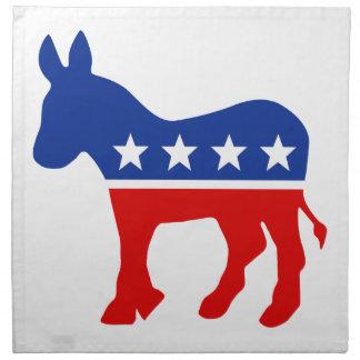 Democrat Donkey American MoJo Napkins