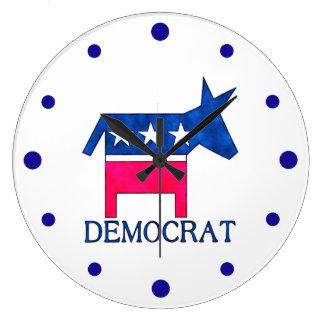 DEMOCRAT DONKEY Clock