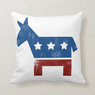 Democrat Donkey logo Cushion