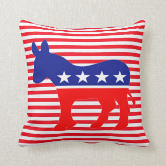 democrat donkey pillow