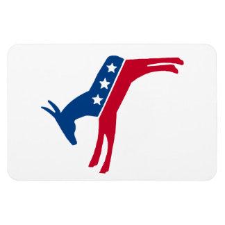Democrat Donkey Vinyl Magnets
