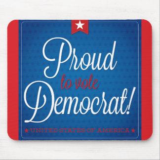 Democrat Mouse Pad