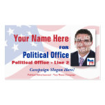Democrat Political Election Campaign Pack Of Standard Business Cards