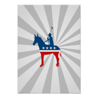 Democrat Polo Poster