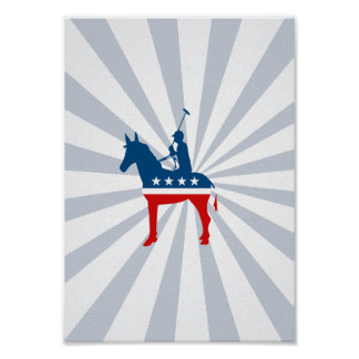 Democrat Polo Posters