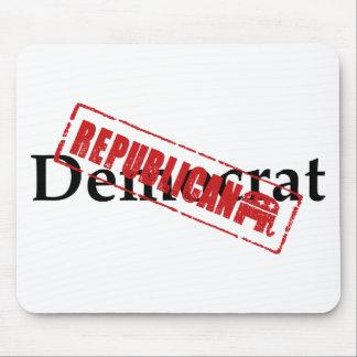 Democrat: REPUBLICAN Mousepad