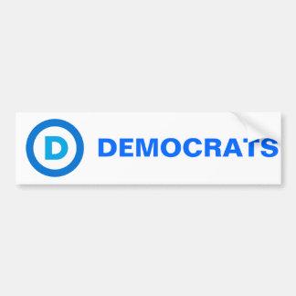 Democratic Bumper Sticker