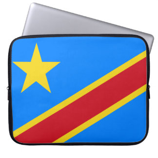 Democratic Republic of the Congo World Flag Laptop Sleeve