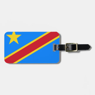 Democratic Republic of the Congo World Flag Luggage Tag