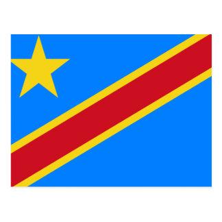 Democratic Republic of the Congo World Flag Postcard