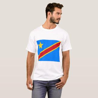 Democratic Republic of the Congo World Flag T-Shirt