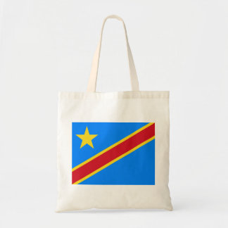 Democratic Republic of the Congo World Flag Tote Bag