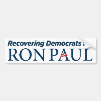 Democrats for Ron Paul Bumper Sticker