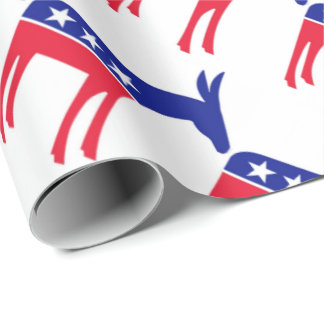 Democrats Wrapping Paper