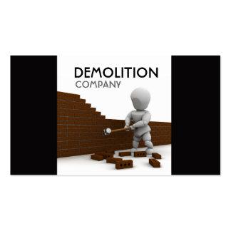 Demolition Business Card