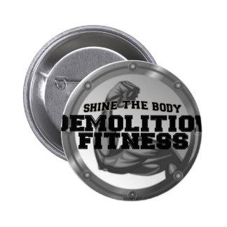 Demolition Fitness Logo Pin