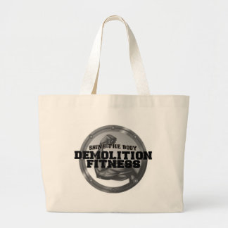 Demolition Fitness Logo Canvas Bags