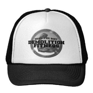 Demolition Fitness Logo Trucker Hat