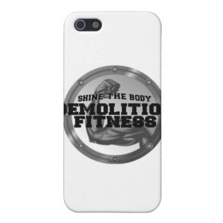 Demolition Fitness Logo iPhone 5 Cover