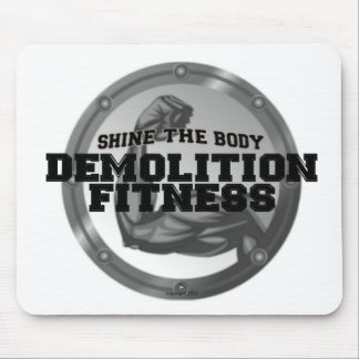 Demolition Fitness Logo Mouse Pads