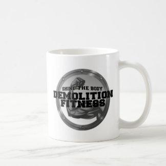Demolition Fitness Logo Coffee Mugs