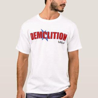 Demolition softball shirt