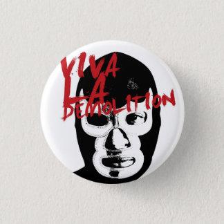 Demolition Wrestle 3 Cm Round Badge