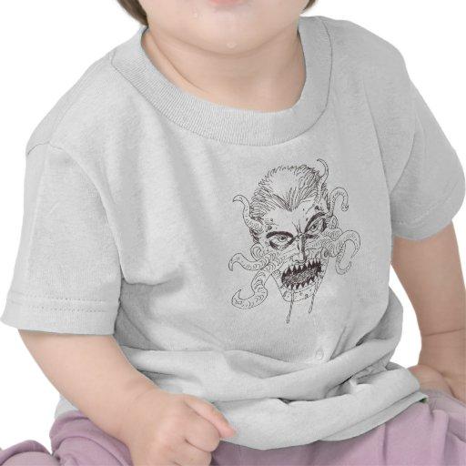 Demon Art T Shirt