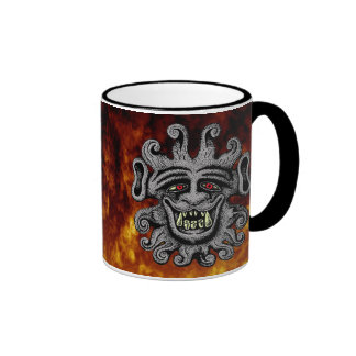 Demon Door Knocker Mug